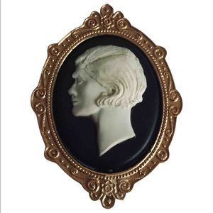 Remarkable Antique CHANEL Cameo brooch
